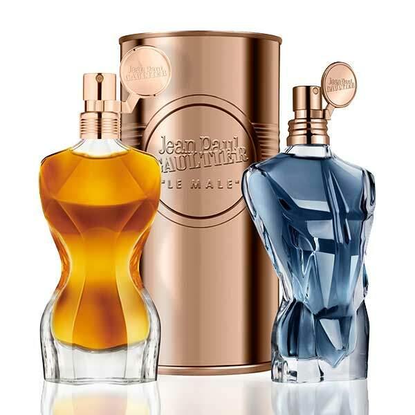 Eaux de parfums, Collection Essences, Classiques 50 ml, 76,77€ et Le Mâle, 75 ml, Jean Paul Gaultier, 66,91€