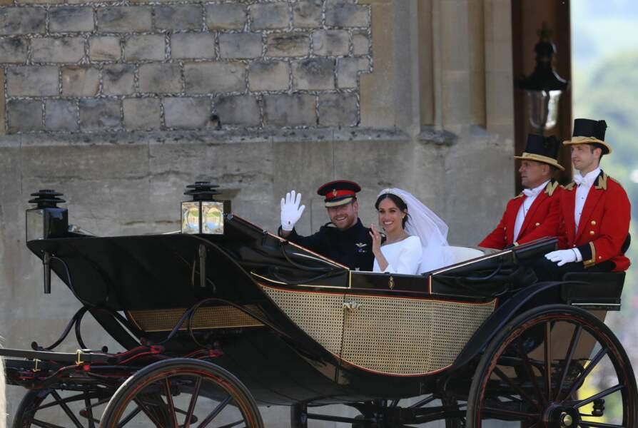 Le prince Harry, duc de Sussex, et Meghan Markle duchesse de Sussex, ont fait le choix d'un landau.