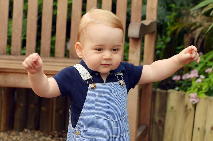 Pour son premier anniversaire, le prince George faisait lui aussi sensation