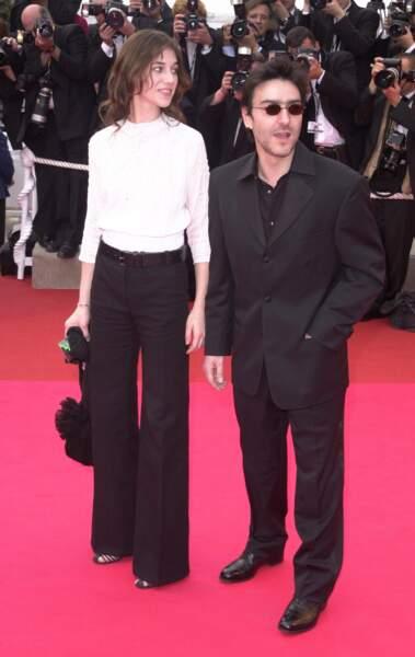 Yvan Attal et Charlotte Gainsbourg en 2001