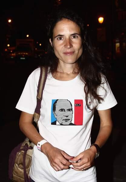 Jusqu'à ce que François Mitterrand vienne la chercher au lycée, personne ne connaissait  sa fille, Mazarine Pingeot