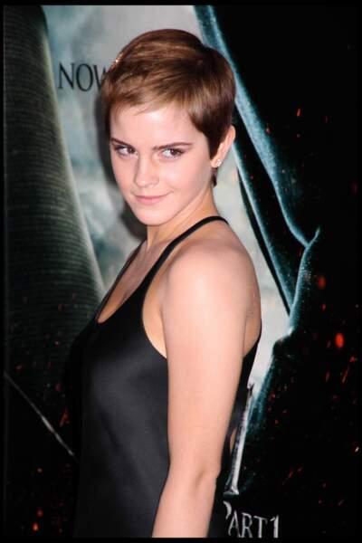 La coupe ultra courte d'Emma Watson