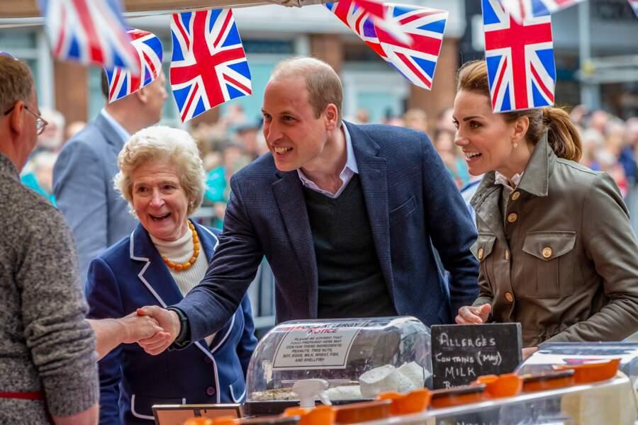 Le prince William et Kate Middleton étaient en visite dans le comté de Cumbria ce mardi 11 juin.