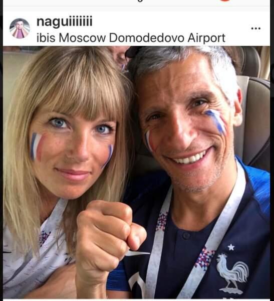Nagui et son épouse, Mélanie Page