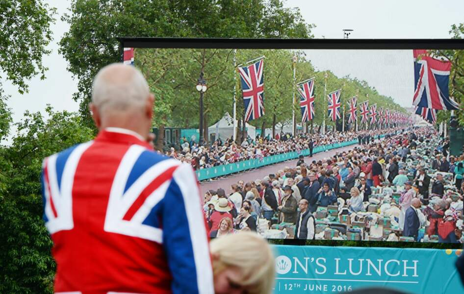 Queen's 90th birthday celebrations - Patron's Lunch - London