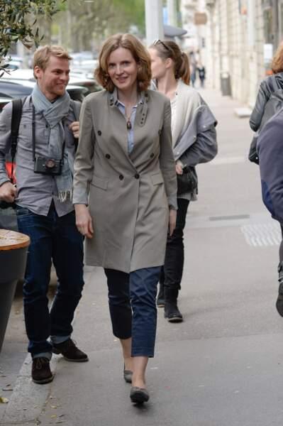 Nathalie Kosciusko-Morizet est passée des bottines à talon aiguille aux ballerines plates