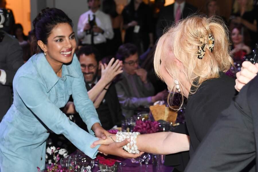 Priyanka Chopra a irradié le diner God's Love We Deliver, Golden Heart Awards en look Michael Kors.