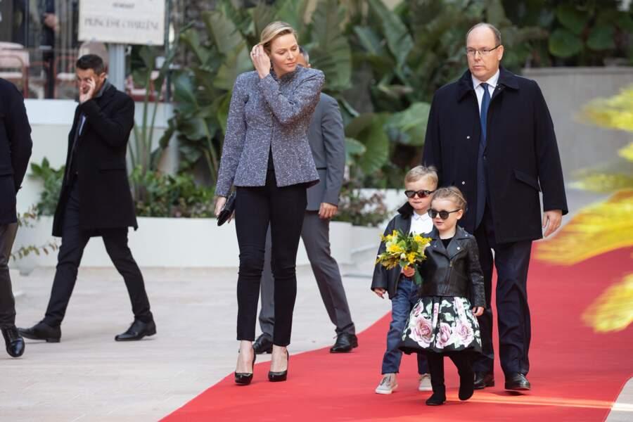 A 4 ans, Jacques et Gabriella de Monaco ont fait sensation avec leurs perfecto en cuir
