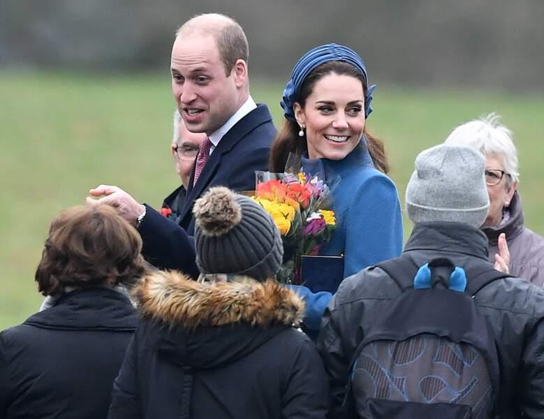 Kate Middleton le 6 janvier 2019 une première sortie remarquée