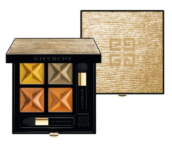 Step 7 : Brillez jusqu'au bout de la nuit avec La Palette Ors Audacieux Must Have, Givenchy, 55 € (exclu Galeries l
