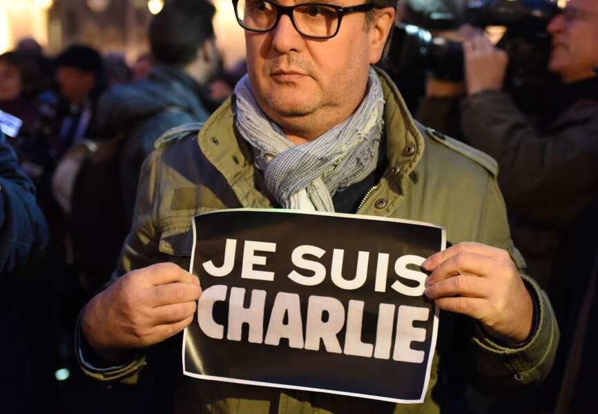 """""""Je suis Charlie"""" à Nantes"""