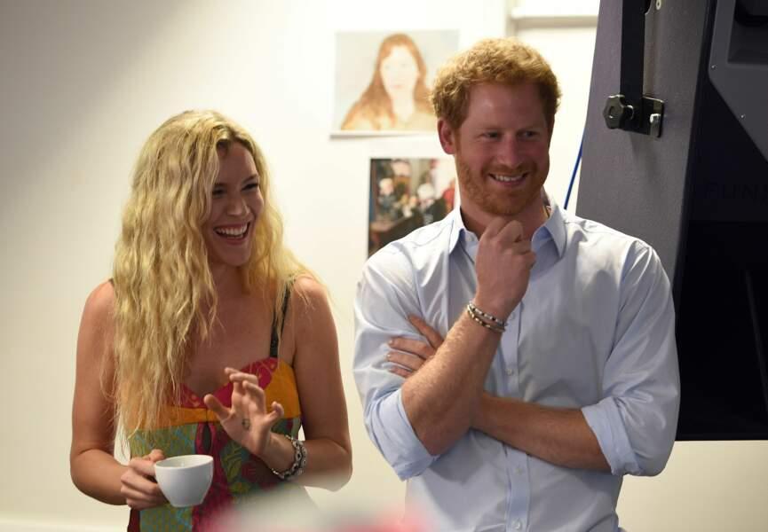 Prince Harry et la chanteuse Joss Stone