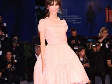 Annabelle Belmondo, superbe à la Mostra de Venise