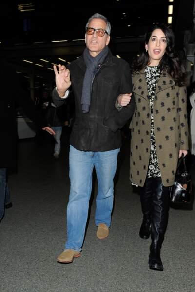 George et Amal Clooney ont eu des jumeaux le 6 juin dernier : Ella et Alexander