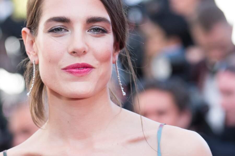 Charlotte Casiraghi lors  du 68 ème Festival International du Film de Cannes, à Cannes, le 17 mai 2015.