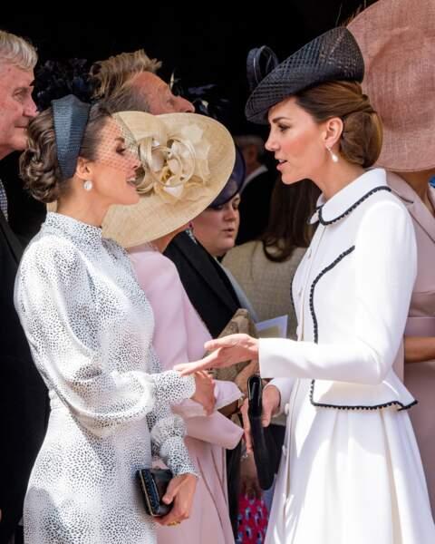 Letizia d'Espagne et Kate Middleton : qui est la plus stylée des deux ?