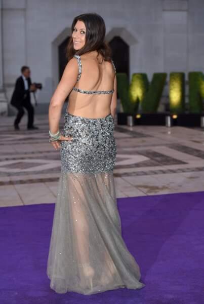 En juillet 2015 Marion Bartoli au dîner de Wimbledon
