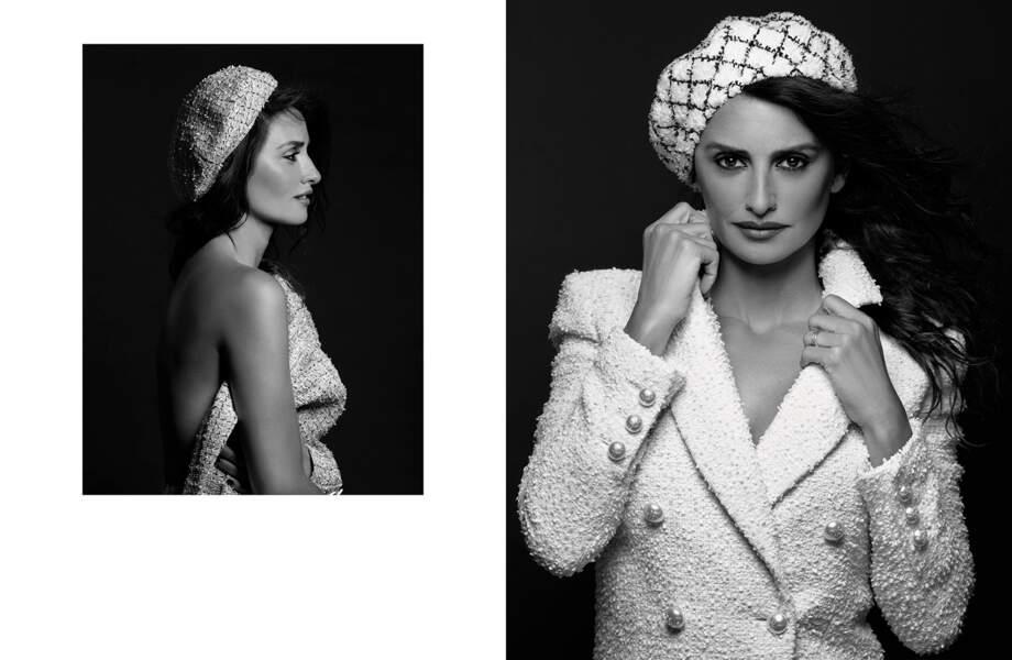 Mixer rétro et avant-gardisme : voici le nouveau pari réussi de Chanel avec Penelope Cruz comme nouvelle égérie.
