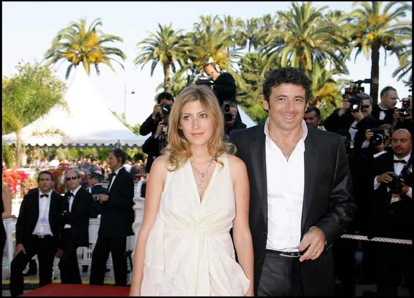 Patrick Bruel et Amanda Sthers à Cannes en 2007