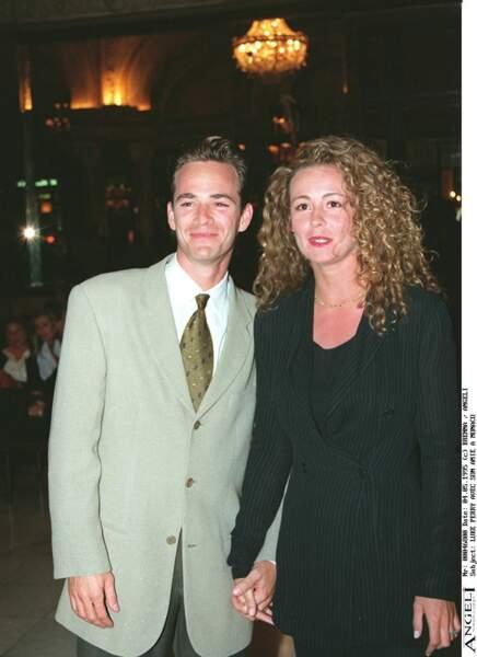 Luke Perry à Monte Carlo en 1995