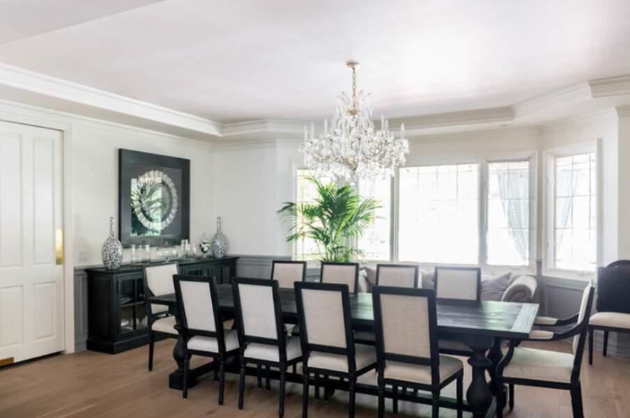 Table de salon pour recevoir les invités