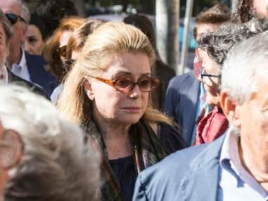 Catherine Deneuve et Chiara Mastroianni dignes aux obsèques de Barbara Mastroianni