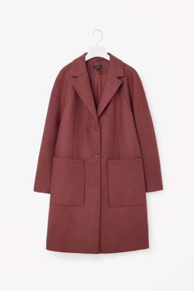 Manteau en laine, COS - 190€