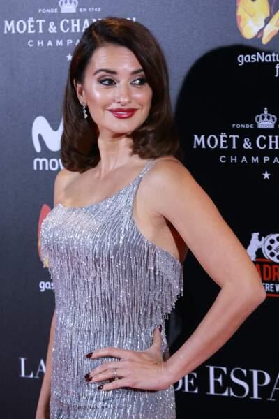 L'an dernier, Penélope Cruz s'affiche glamour