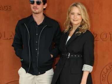 Niels Schneider et Virginie Efira amoureux à Roland Garros
