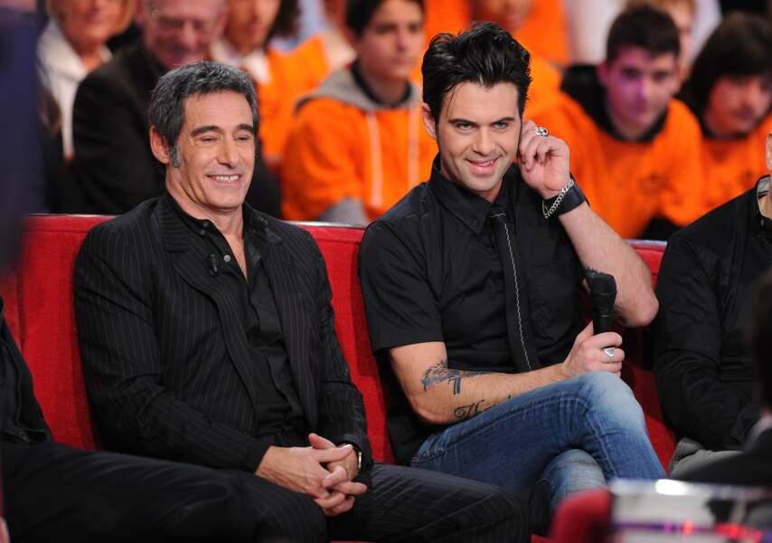 Gérard et Manu Lanvin, toujours sur le plateau de Vivement Dimanche mais en 2011