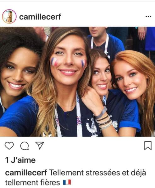 Camille Cerf, Iris Mittenaere, Alicia Aylies