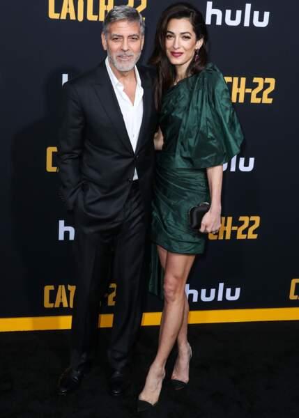 George et Amal Clooney forment un couple glamour