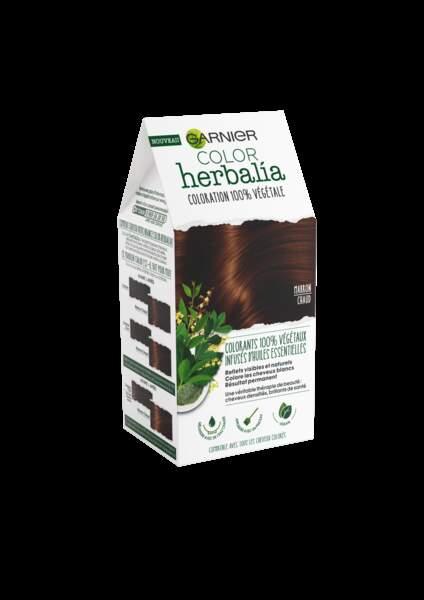 Coloration végétale Herbalia Marron Chaud, Garnier, 12,90 €