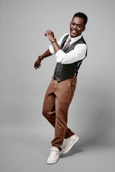 """Black M : """"Ce style me rappelle celui du clip vidéo Hey ya ! du groupe hip hop Outkast """""""