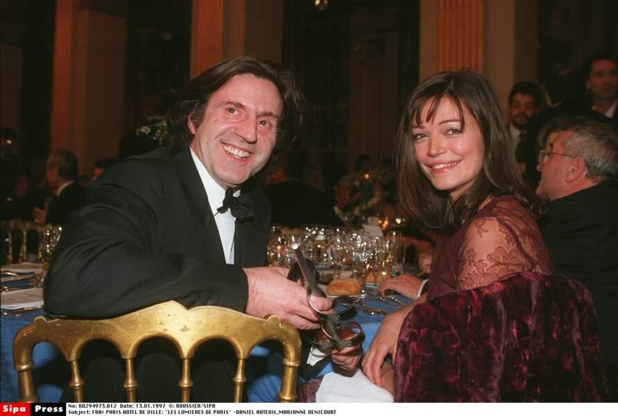 Daniel Auteuil et Marianne Denicourt