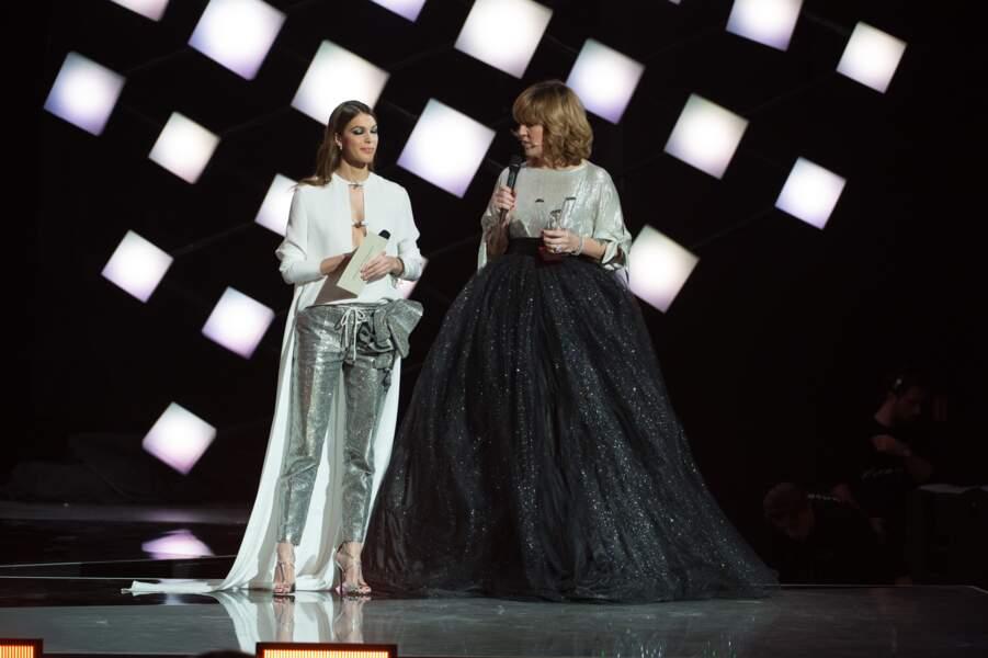 Iris Mittenaere et Daphné Bürki à la 33ème Cérémonie des Victoires de la Musique