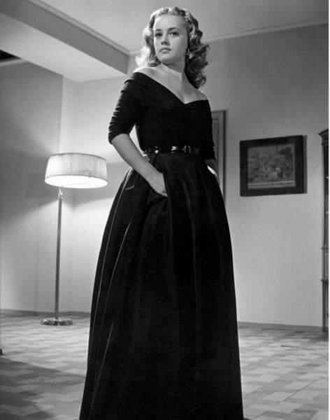 """1952, le monde découvre à peine la belle Jeanne Moreau dans """"L'homme de ma vie"""""""