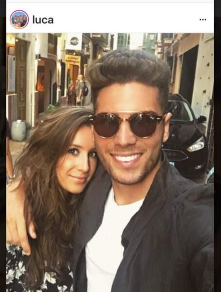 Luca Zidane et sa petite-amie