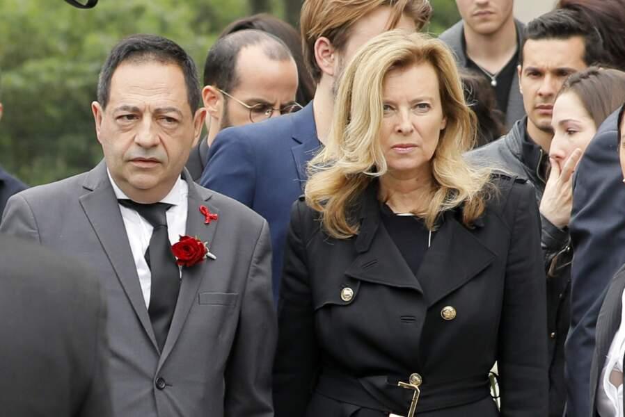 Valérie Trierweiler a rejoint Jean-Luc Romero, le mari de Christophe Michel