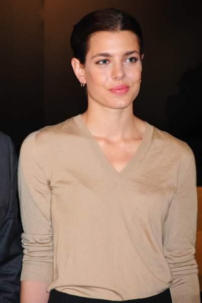"""Charlotte Casiraghi présente la collection """"The Art of Cartier"""" a Madrid, le 22 octobre 2012"""