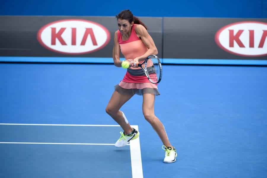 Fin janvier 2016 à l'Open d'Australie