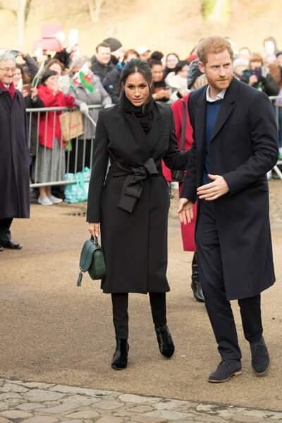 Le prince Harry et Meghan Markle, un couple chic et assorti