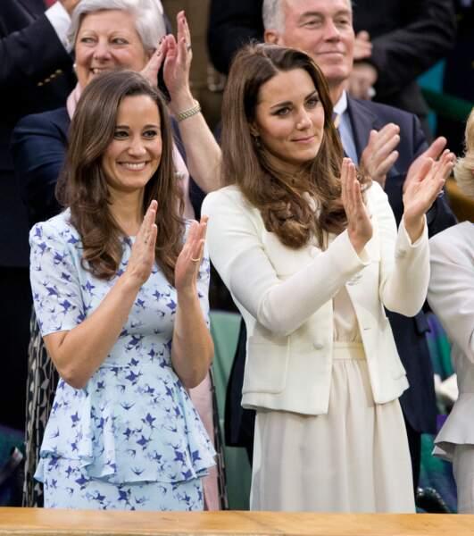 En 2012, lors de la finale du tournoi de Wimbledon