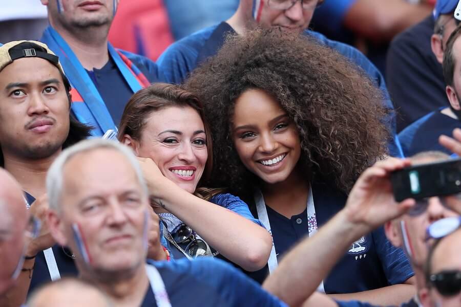 Rachel Legrain-Trapani et Alicia Aylies soulagées : les Bleus sont en quarts de finale