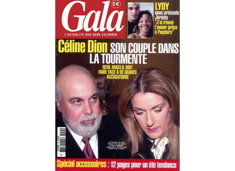 Céline Dion son couple dans la tourmente
