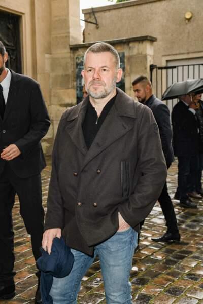 Eric Naulleau - Obsèques de Dick Rivers en l'église Saint-Pierre de Montmartre à Paris le 2 mai 2019.