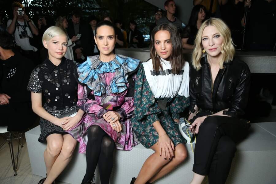 Michelle Williams, Jennifer Connely, Cate Blanchett et Alicia Vikander