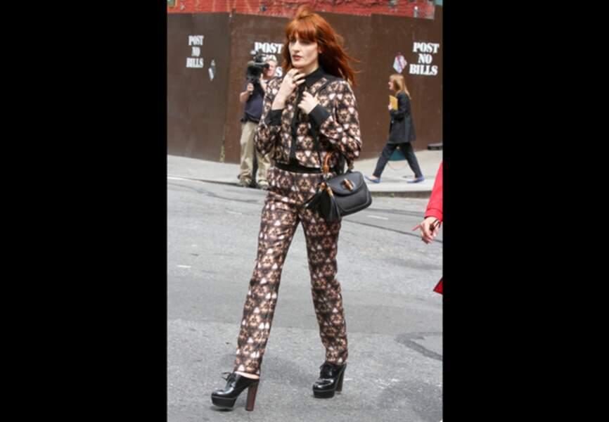 Florence Welch, boyish choc