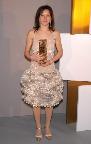 """Sylvie Testud, récompensée en 2004 pour son rôle dans """"Stupeur et Tremblements"""""""