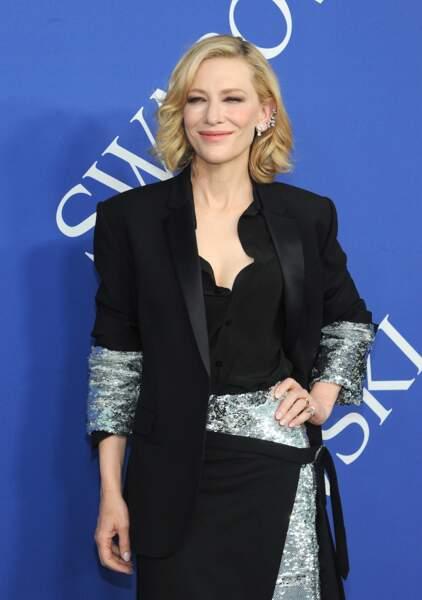 Cate Blanchett toujours chic en Monse Paris